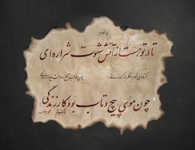 برچسبها: شعر صائب تبریزی